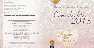 CARTE DES FÊTES 2017
