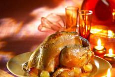 les volailles et les viandes festives